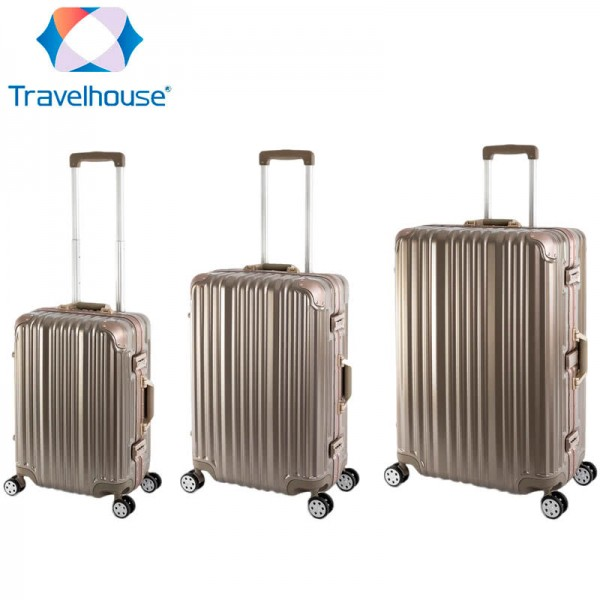 TRAVELHOUSE London Reisekoffer Reisegepäck Set
