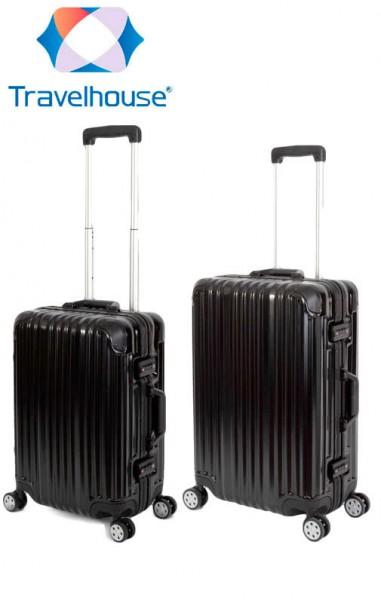 TRAVELHOUSE London Reisekoffer Reisegepäck Set